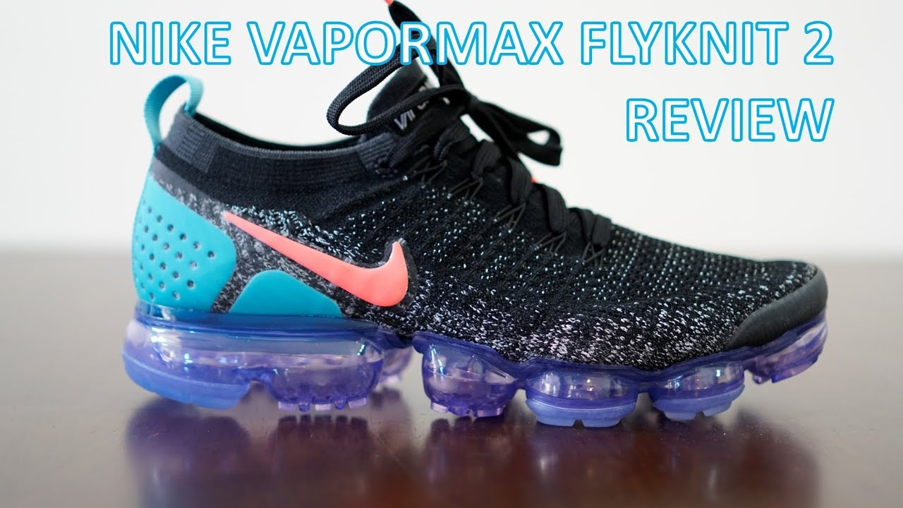 reputable site e9394 4fdf3 REVIEW   ON-FEET - Nike Vapormax Flyknit 2 - YouTube