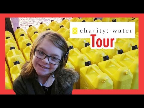 Behind the Scenes Tour of the Charity: Water Offices in NYC | ActOutGames