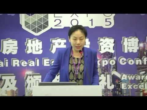 Sina Property Speaking at 2015 China Real Estate Expo