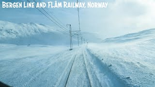Winter Cab View from two of the most SCENIC RAILWAYS in the WORLD