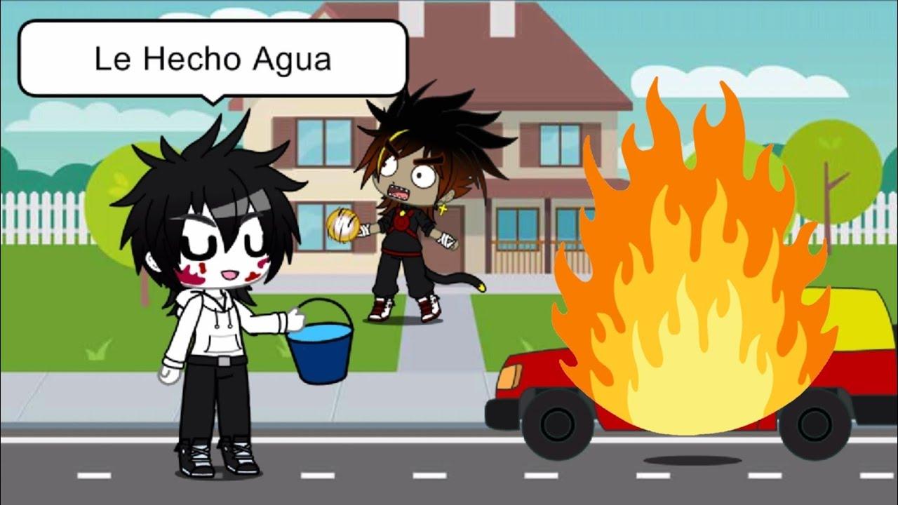 Le Hecho Agua 💦   Meme Versión Creepypasta   Gacha Club   Killer Sama