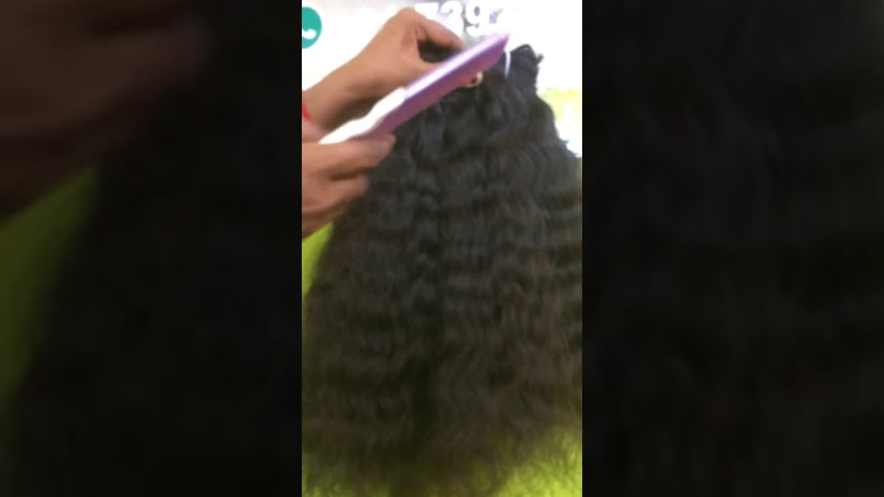 Indian Natural Curly Human Hair Extensions Youtube