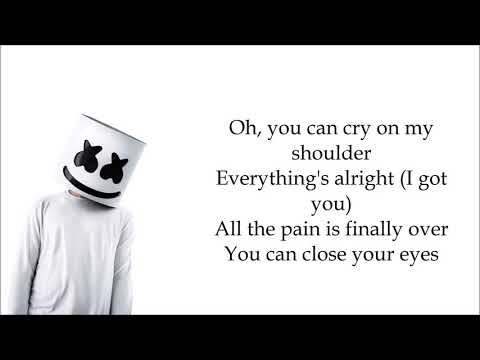 Marshmello & Juicy J (feat.James Arthur) - You Can Cry [LYRICS]