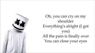 Marshmello & Juicy J (feat.James Arthur) - You Can Cry [LYRICS]