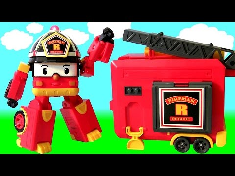 Fireman robocar poli truck youtube - Le club robocar poli ...
