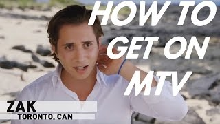 "HOW TO GET ON MTV ""ARE YOU THE ONE?"" 
