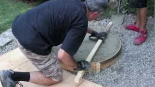 The Making Of Our Backyard Fire Pit Bbq - By Frank & Marcel Mazzuca