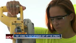 Non-profit Building Tiny Homes For Veterans In St. Petersburg