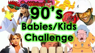 Do you remember? 90s Babies/Kids Challenge Quiz