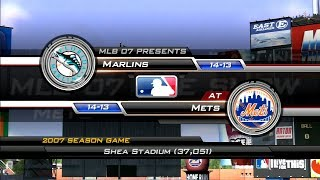 MLB 07: The Show (Florida Marlins Season) Game #28 - FLA @ NYM