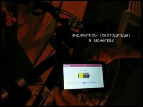 втулка - генератор для переднего колеса велосипеда