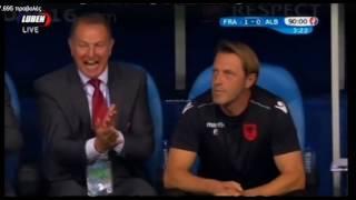 Θα σου τη γκαμίσω την μπουφάν || France-Albania 0-2