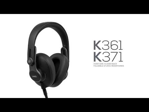AKG's K361 and K371 studio headphones promise comfort, reliability and a sound you can trust | MusicRadar
