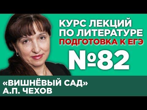 А.П. Чехов «Вишнёвый сад» (анализ тестовой части)   Лекция №82