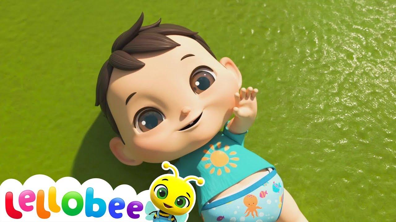 Baa Baa Black Sheep Song | Nursery Rhyme & Kids Song - ABCs and 123s | Little Baby Bum