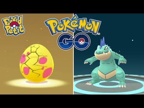 COMMUNITY DAY DE TOTODILE! (PARTE2) MUCHOS HUEVOS ALOLA Y FERALIGATR SHINY! [Pokémon GO-davidpetit] thumbnail