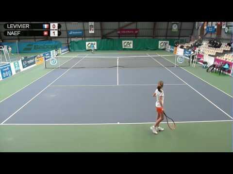 LEVIVIER (FRA) vs NAEF (SUI) - Open Super 12 Auray Tennis - Court 4
