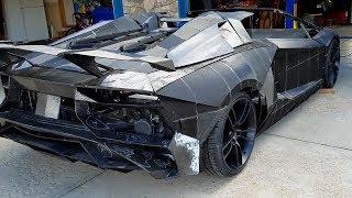 Imprimió su propio Lamborghini