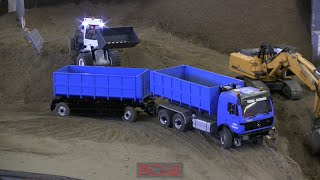 RCTKA TRUCKS AND CONSTRUCTION MACHINES - Neujahrs Baggern - part 4