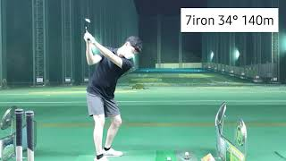 [Golf로그]마산골프랜드 인도어 비거리 체크 수련