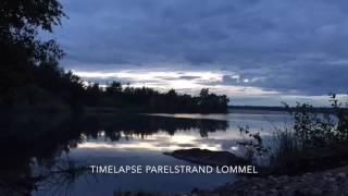 Timelapse Parelstrand Lommel, België