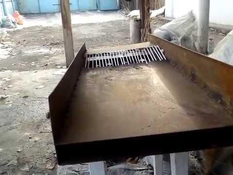 Мини шлюз Инжекторный для промывки  россыпного золота. Обзор.  Добыча золота в ручную.