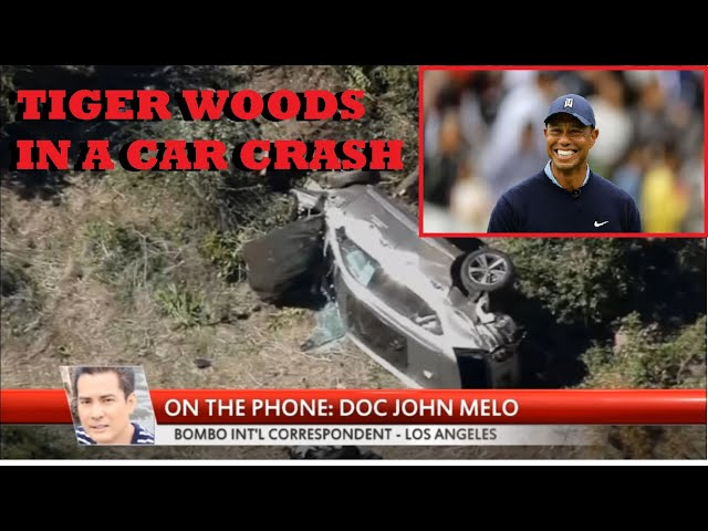 Tiger Woods Car Crash won't face charges after sheriff says car an accident