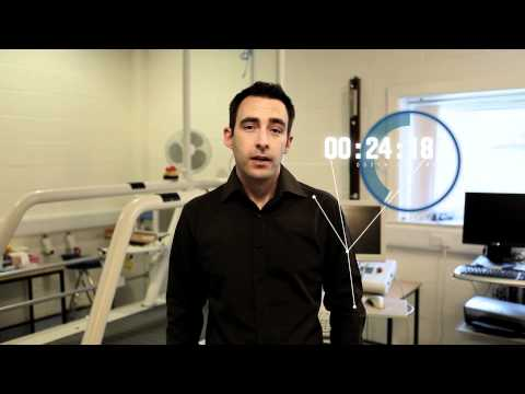 60 seconds research - Andy Smith, Senior Lecturer in Physical Activity, Exercise and Health
