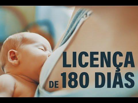Licença-maternidade de 180 dias pra todas