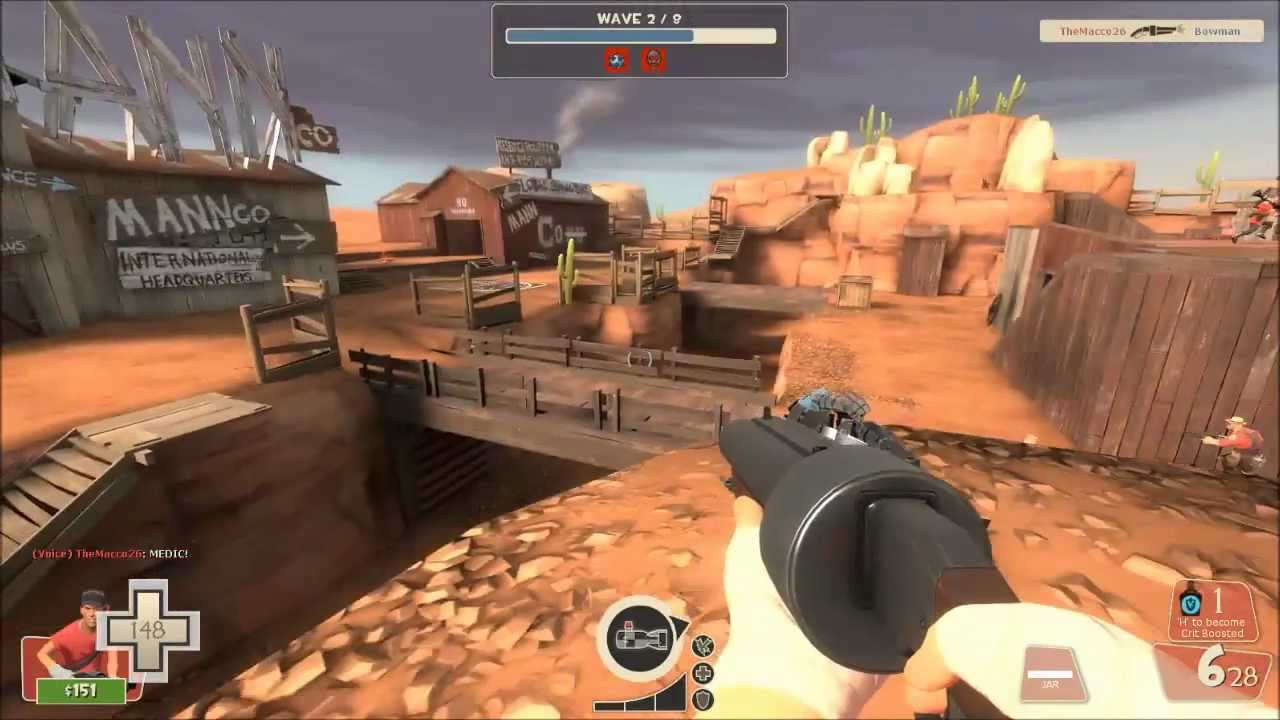 Mann vs. Machine mission - Official TF2 Wiki