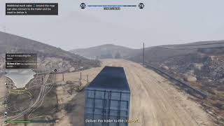 GTA 5 Online: Cargo Delivery Win