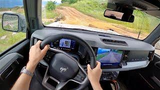 2021 Ford Bronco Sasquatch Badlands 2.7L V6 4-Door - POV Offroad First Impressions