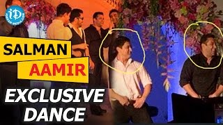 Salman Khan, Aamir Khan Exclusive Dance
