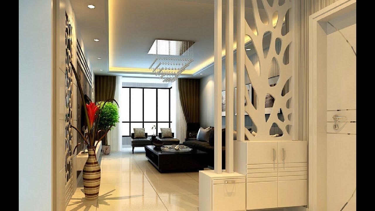 Partition Design For Living Room And Dining Room Combo 2019 Youtube