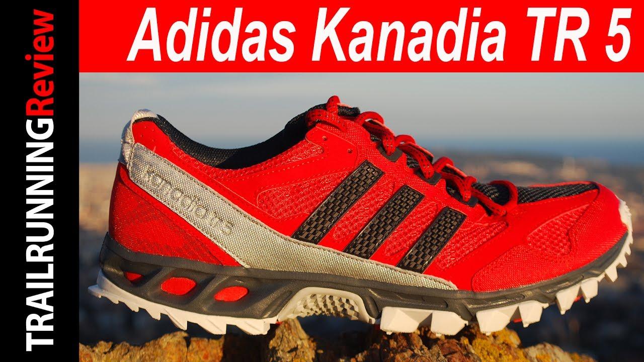 desencadenar Colonial liebre  Adidas Kanadia TR 5 Review - YouTube