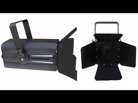 200w rgbw 4in1 pro stage equipment theater fresnel film tv rgbw led studio light