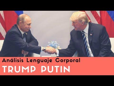 Análisis Lenguaje Corporal Donald Trump Putin