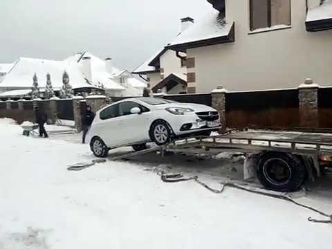 Перевозка легкового автомобиля в Европу