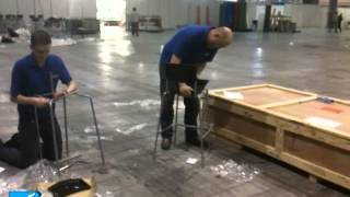 The FESPA Team take the IKEA Stig chair challenge at FESPA Digital 2012 - FESPA TV