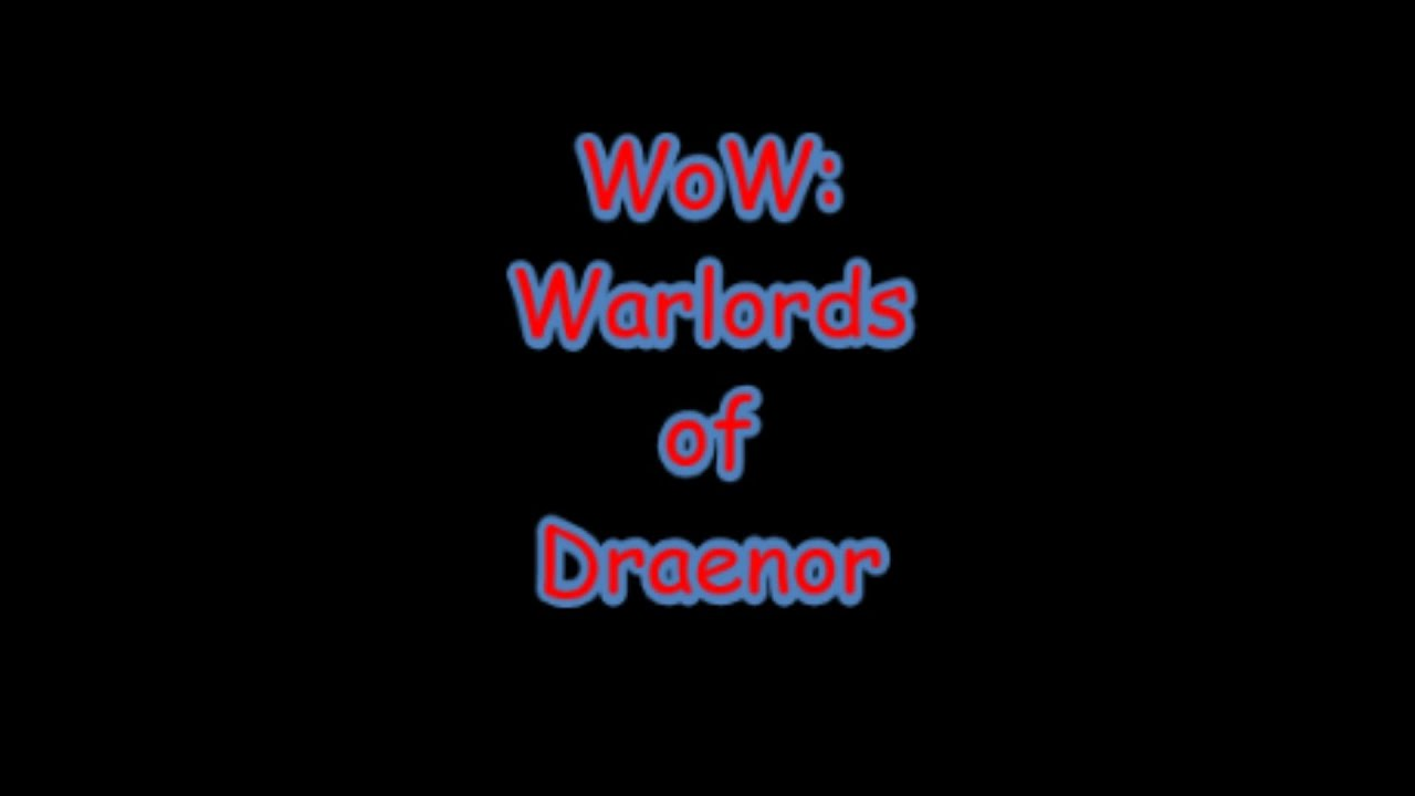 Wow Warlords Of Draenor How To Fix Quest Npcs Not Showing Youtube