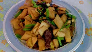Stir Fry Beef Steak  (With Bamboo Shoots And Chinese Celery)