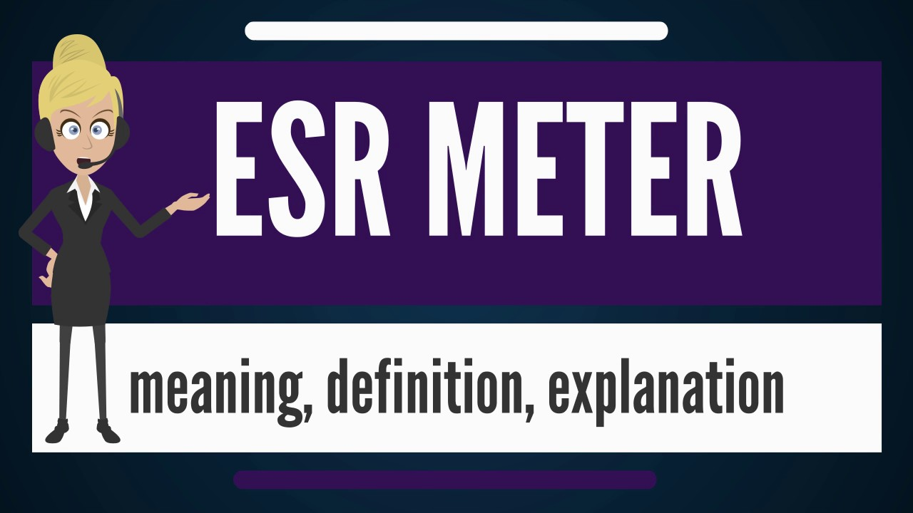 what does esr stand for