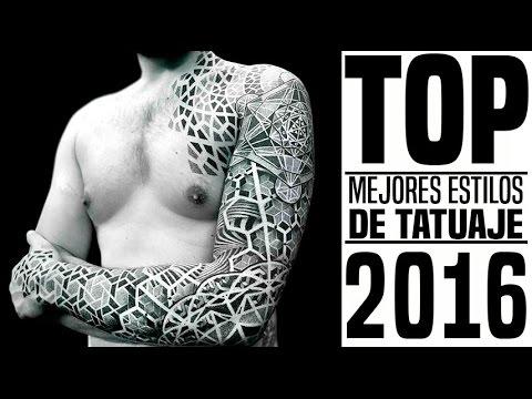 Top Los Mejores Estilos De Tatuaje 2016 Youtube