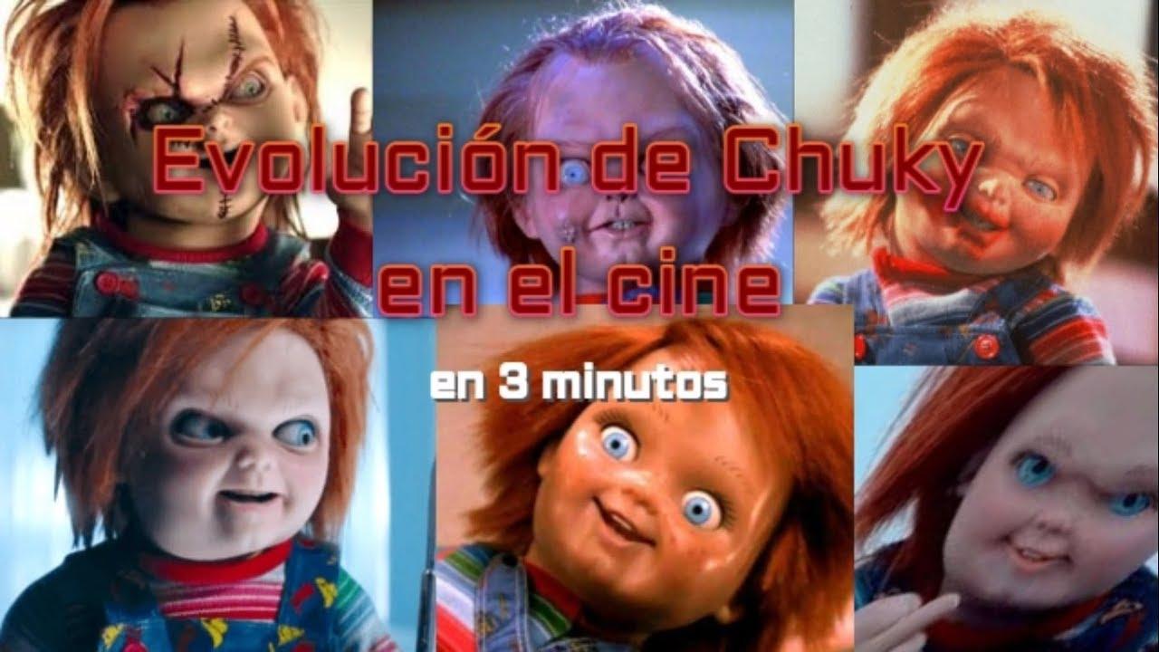 Evolución de Chuky en el cine en 3 minutos. Doblaje latino (Child's Play)