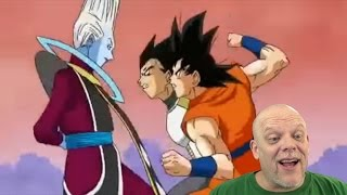 REACTION VIDEO   Vegeta and Goku vs. Whis - Stop and Smell The Flowers!