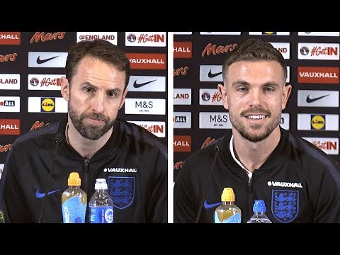 Gareth Southgate & Jordan Henderson Press Conference - Netherlands v England -International Friendly