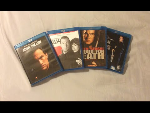 Steven Seagal Movies 19881991 Blu Ray Discussion  and Unboxing