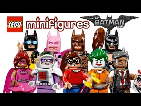 LEGO Minifigures Batman Series - My Thoughts!