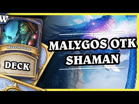 MALYGOS OTK SHAMAN - Hearthstone Deck Wild (KotFT)