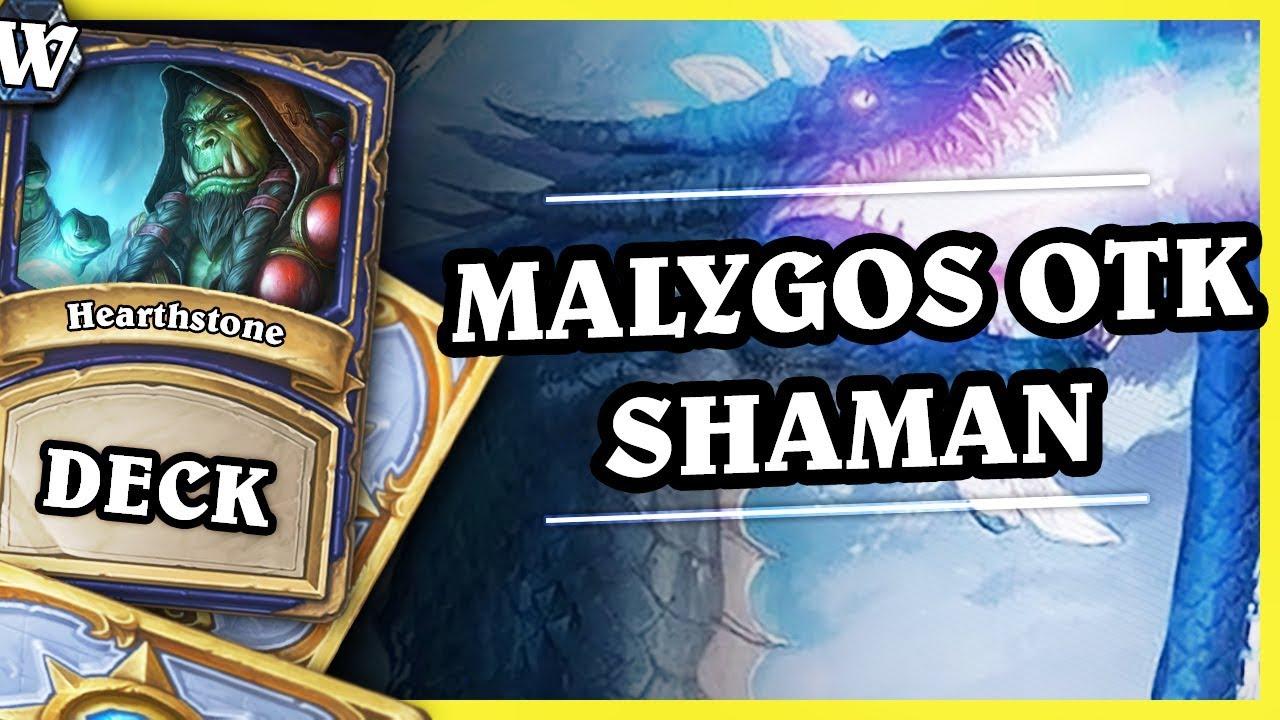 MALYGOS OTK SHAMAN – Hearthstone Deck Wild (KotFT)